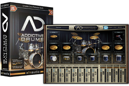 XLN Audio Addictive Drums + Library DownloadSoftware