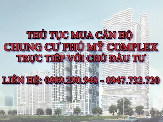 Làm thế nào để mua được chung cư Phú Mỹ Complex giá gốc???