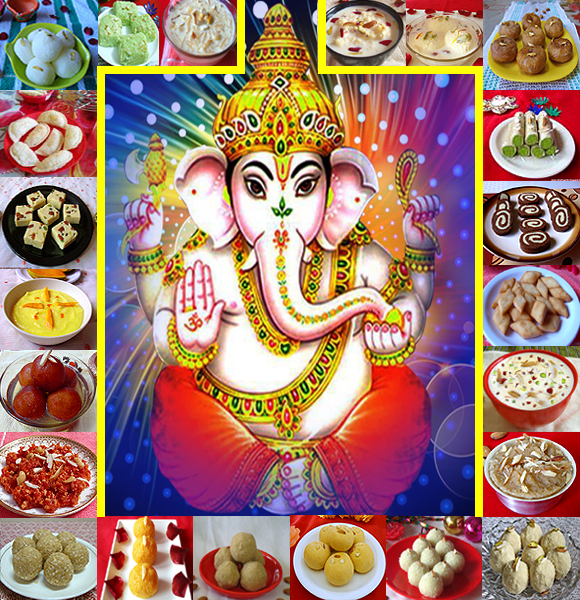 Different Kinds Of Sweets Prepared During Ganesh Festival