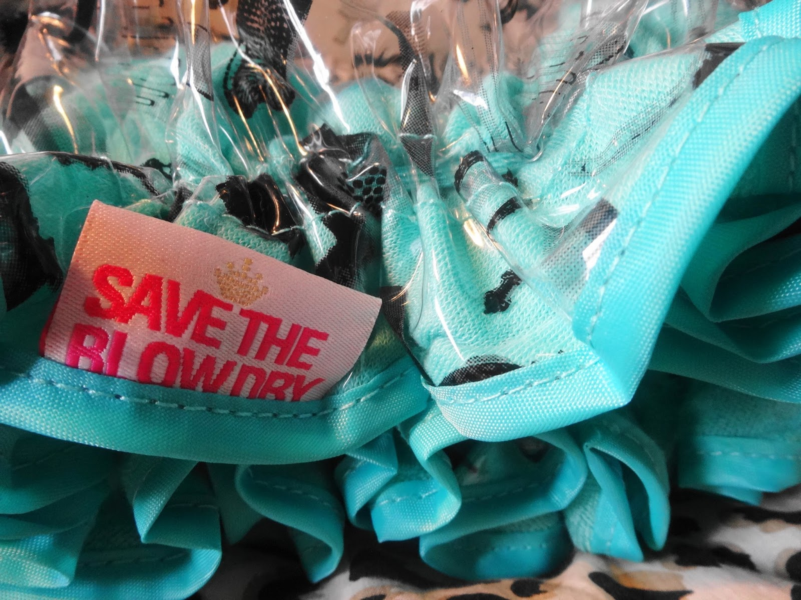 Save The Blow Dry Shower Cap