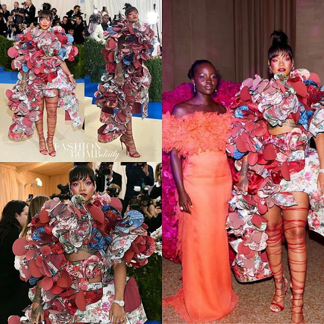 Check out Rihanna's outfit to the MetGala 2017 red carpet