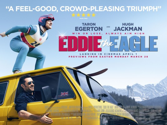 Eddie the Eagle film poster