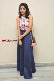 Kannada Actress Mahi Rajput Pos in Floral Printed Blouse at Premam Short Film Preview Press Meet  0020.jpg