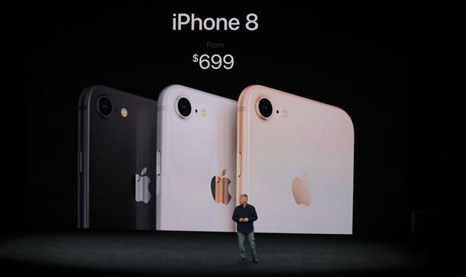 Thông tin về cấu hình iphone 8 và iphone 8 plus cùng bảng giá bán chính thức