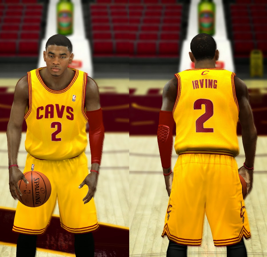 NBA 2K14 Cleveland Cavaliers Jersey Patch