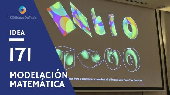 Idea de tesis 171 de 1000 ideas de tesis: ¿Cómo modelar algunas obras de arte y utilizarlas para aprender matemáticas?