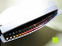 Stifte in Verpackung: KINGTOP 48er Buntstifte Schaft Farbstift Eco Bleistifte Kartonetui für Kunst Aquarelle gut Geschenk