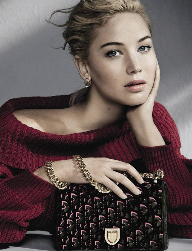 Jennifer Lawrence for Dior Handbags Fall/Winter 2016