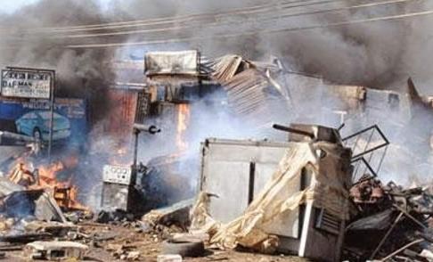 madagali market bomb blasts