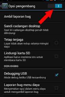 usb debugge di android