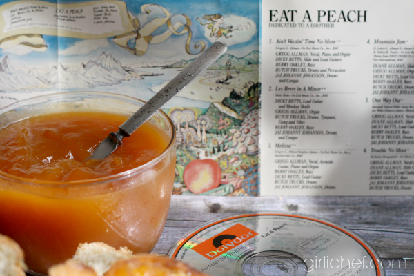 Peach Amaretto Jam (aka Eat A Peach Mountain Jam) plus 105 more peach recipes to celebrate EAT A PEACH DAY!