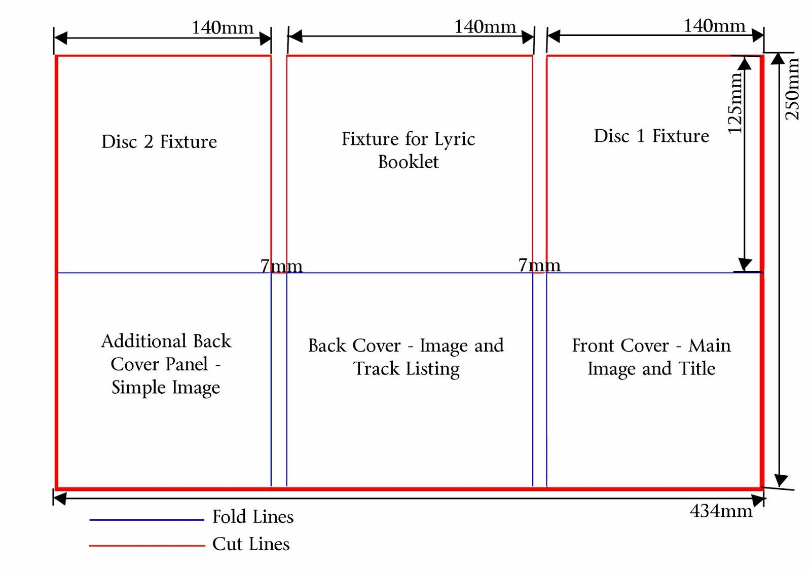 cd dimensions template - lauren barrett 5136 g324 advanced portfolio digipak