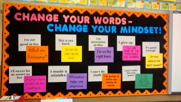 Growth Mindset Bulletin Board Ideas