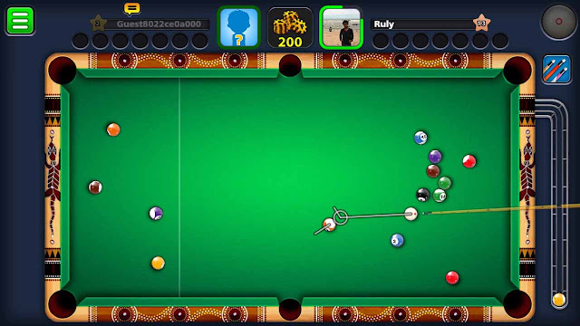 cara cheat 8 ball pool mod