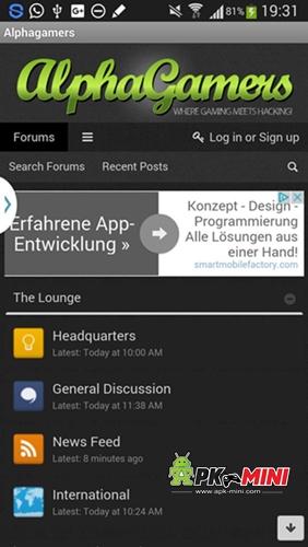 AlphaGamers Mobile App