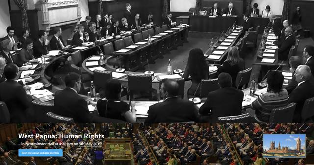Ini Transkrip Lengkap [full], Debat Tentang West Papua di Parlemen Inggris