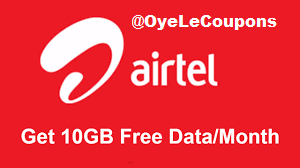 Airtel 10gb 4g Data offer