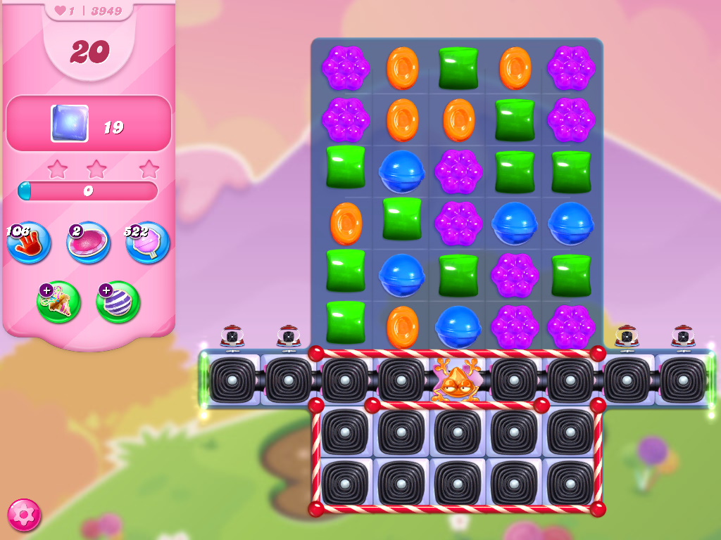 Candy Crush Saga level 3949