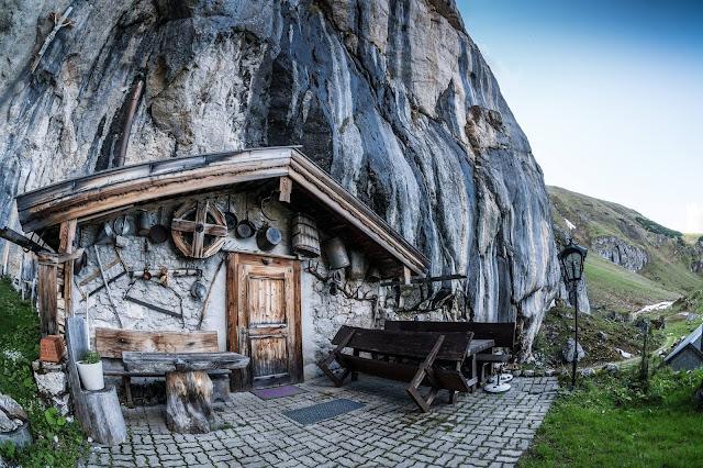 Romantik in den Tiroler Bergen