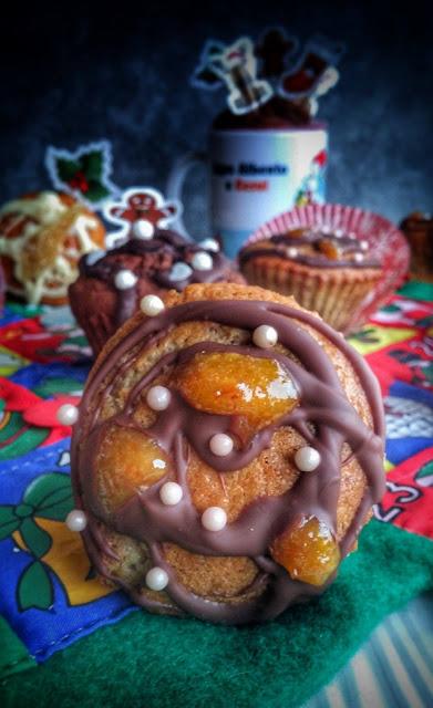 muffin cannella e marmellata di arancio per Cesvi