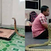 See this person who is married to a 10-feet tall cobra snake and is doing his life. Watch in the video