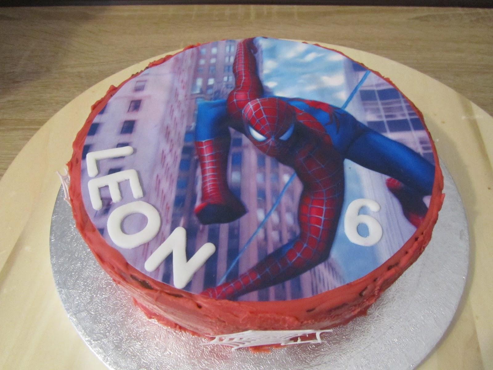 Spiderman Torte Kuchen Anke S Torten Wunsch