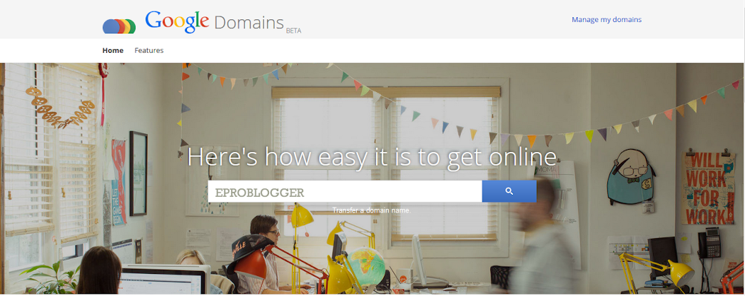 Google Domain registration : eAskme