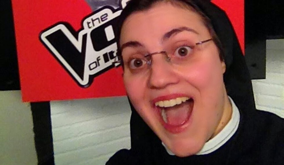 Amazing nun sings at The Voice of Italy