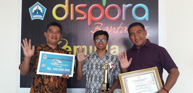 Hebat! Pemuda Asal Rappoa Wakili Sulsel ke Jambore Pemuda Indonesia di Sumbar