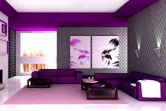 warna cat ruang tamu 2 warna untuk tembok