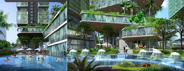 Tiện ích dự án chung cư Paragon Tower