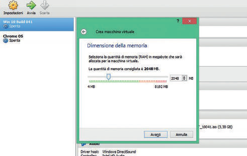 Come installare Windows 7 in VirtualBox: creazione nuova macchina virtuale