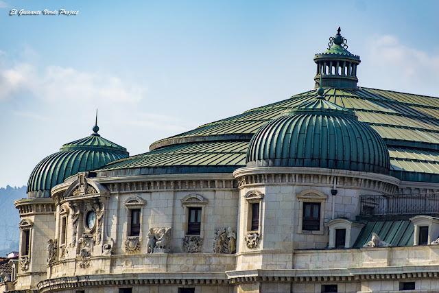 Teatro Arriaga (cúpulas) - Bilbao por El Guisante Verde Project
