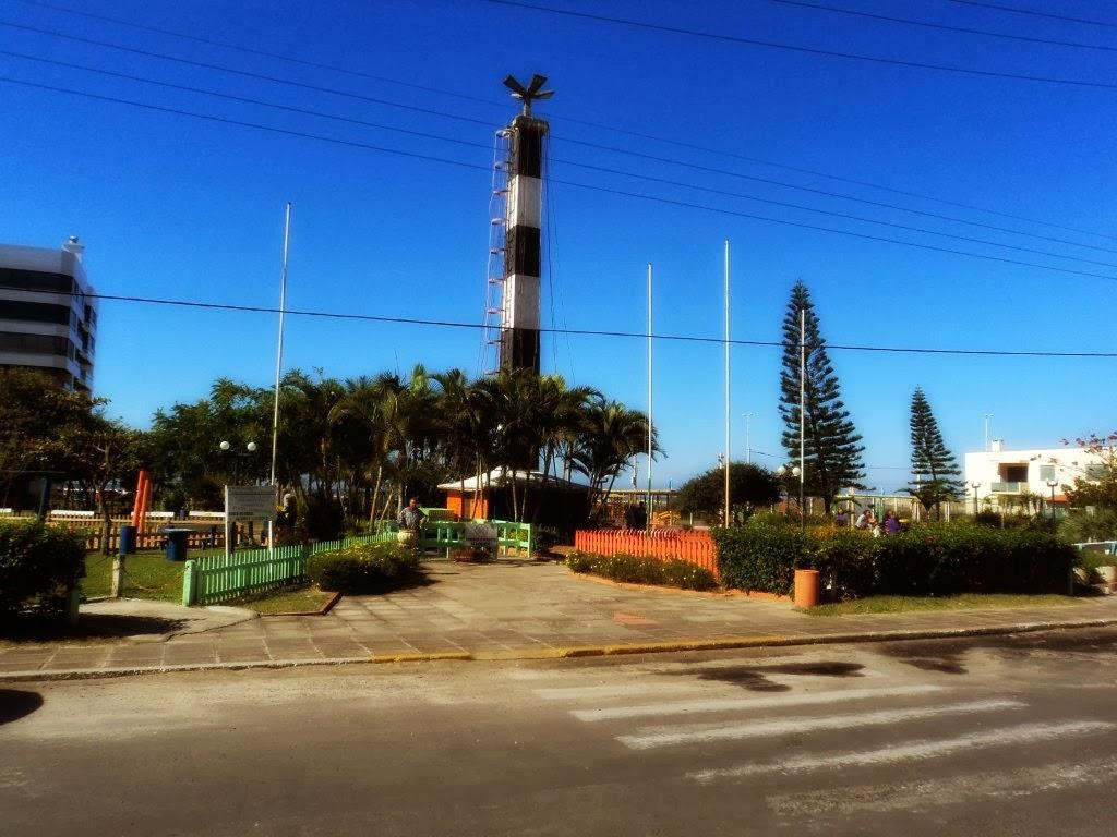 Praça do Farol, em Capão da Canoa