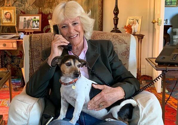 The Duchess of Cornwall had a friendly phone conversation with Silver Line user 90-year-old Betty from Hampshire