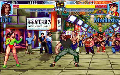 【Dos】格鬥悍將+密技,懷舊的格鬥對戰遊戲!