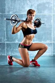 спортуваща жена