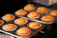 Cupcakes de calabaza para Halloween