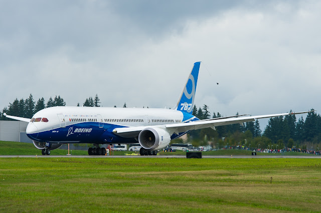 Boeing 787-9 Dreamliner While Taxiing