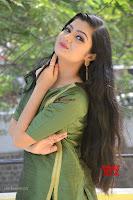 Akshitha cute beauty in Green Salwar at Satya Gang Movie Audio Success meet ~  Exclusive Galleries 039.jpg