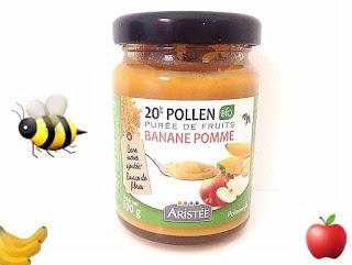 Pollen et Purée de fruits bio - Pollenergie