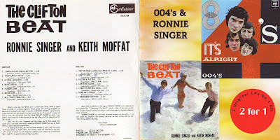Ronnie Singer & Keith Moffat /The 004's - The Clifton Beat - It's Alright (1966) S.Africa