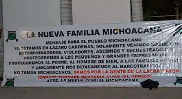 """""""ÚNICAMENTE NOS DEDICAMOS AL NARCOTRAFICO, NO TEMAN MICHOACANOS"""", AFIRMA LA NUEVA FAMILIA MICHOACANA Y VAN POR EL """"CENIZO"""""""