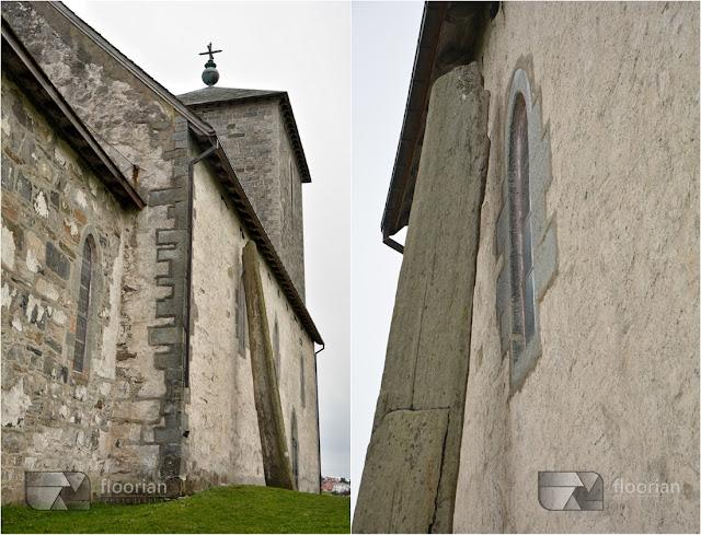 Haugesund, Karmoy - Kościół Św. Olafa (Olavskirken). Igła Maryi