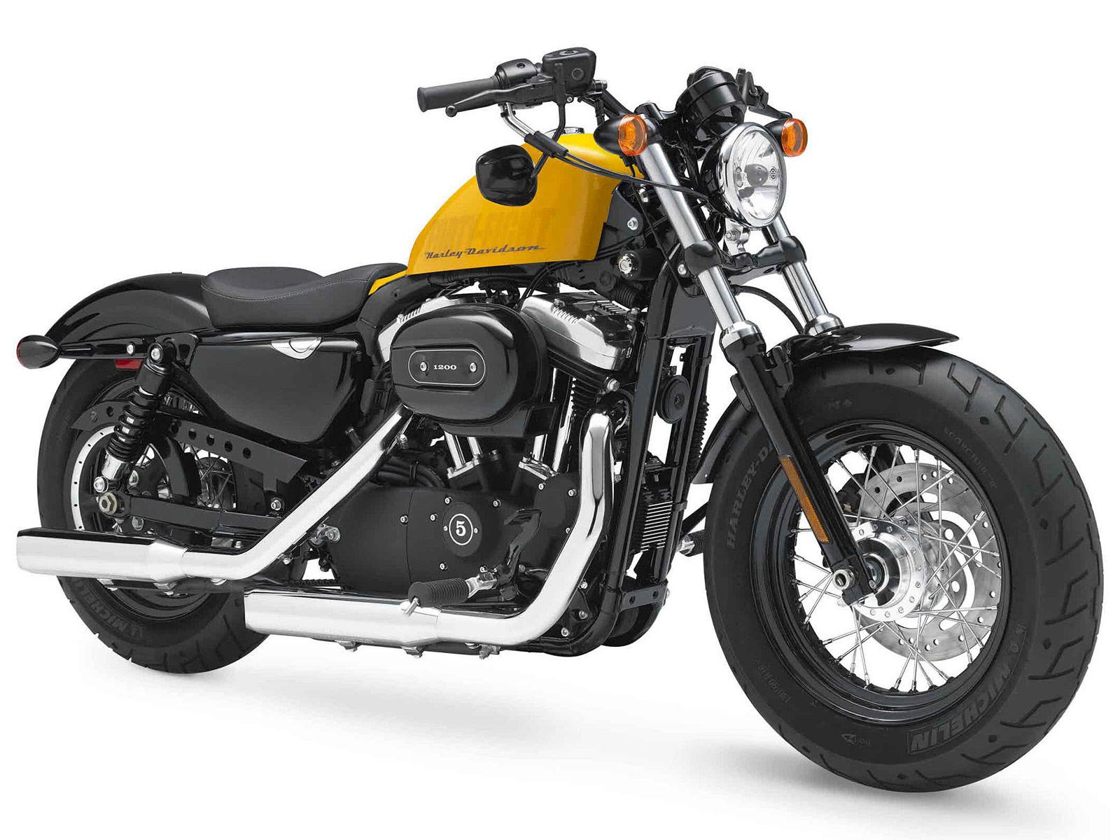 2012 XL1200X Forty-Eight 48 Harley-Davidson Review