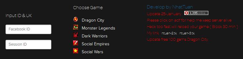 Dragon City Hacking Permanent