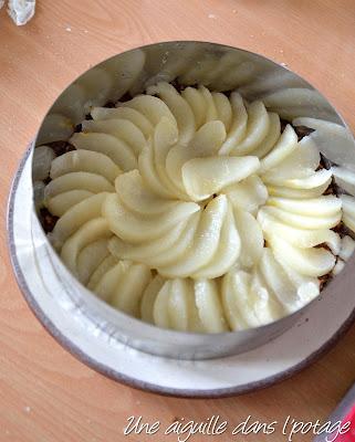cheesecake poire vanille citron