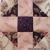 Tutorial how to make a quilt block by the quilt ladies