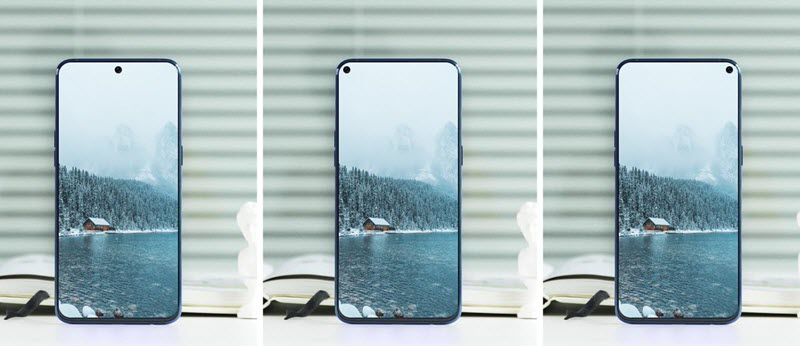 سامسونج يمكن أن تطلق هاتف ذكي بكاميرا مدمجة بالشاشة في 2020