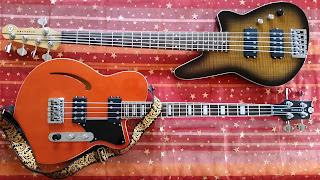 Basses Reverend Dub King + Mercalli 5